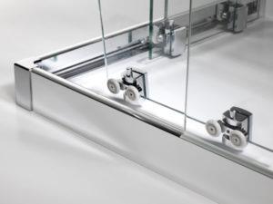 series 7400tm frameless corner entry