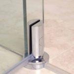 135 degree pivot system door